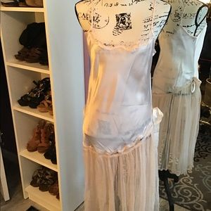 Vintage Baby Pink Sexy Nightgown Small